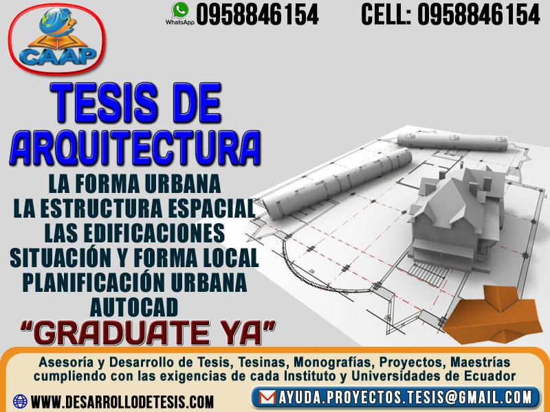 Contactos Desarrollo de Tesis | Hacemos tu Tesis de Grado | Asesoria ...